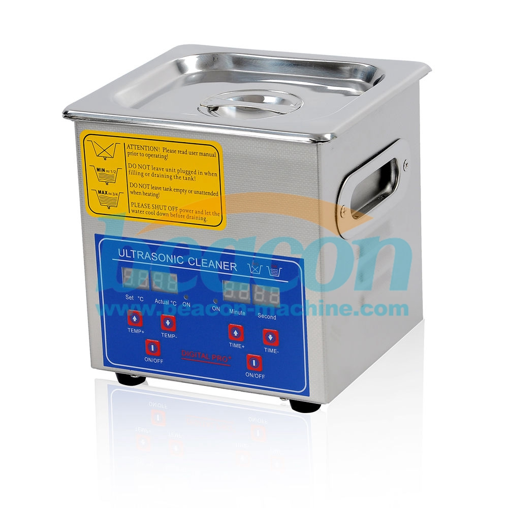 Ultrasonic diesel fuel injector cleaning machine