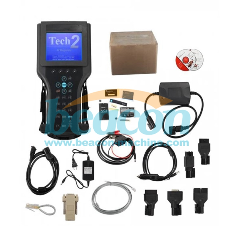 Tech2 Diagnostic Scanner For GM/SAAB/OPEL/SUZUKI/ISUZU/Holden with TIS2000 Software Full Package in Carton Box