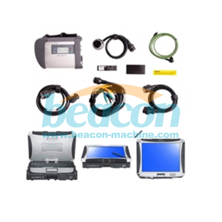 Professional Auto Diagnosis tool MB Star C4 with software ssd and Laptop D630 MB C4 SD Connect Wireless Diagnose Scanner