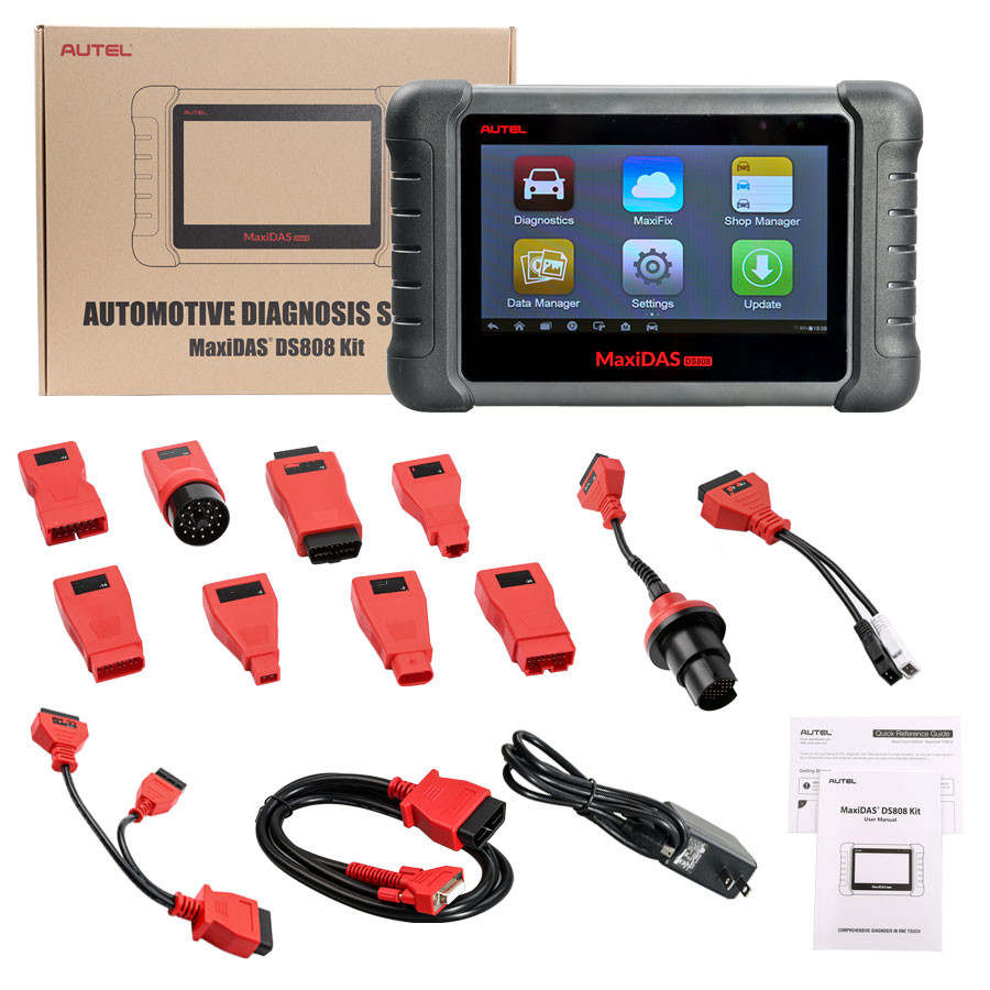 Aute OBD2 Scanner Car Diagnostic Auto Tool MaxiDAS DS808K Code Reader Better DS808 DS708 Functional Better than launch x431