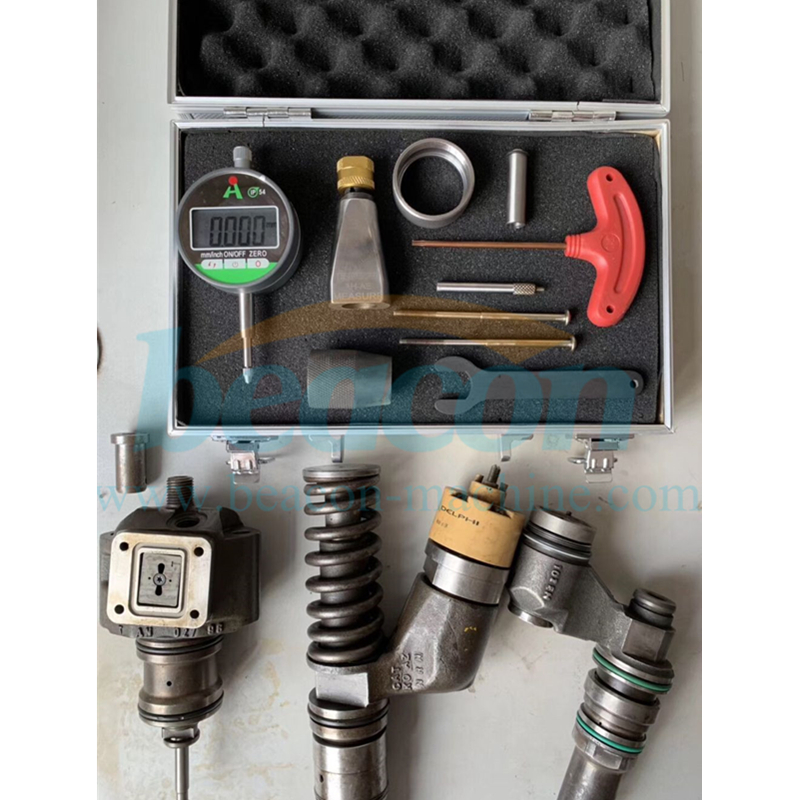 CAT c13 diesel fuel injector removal disassembly tools