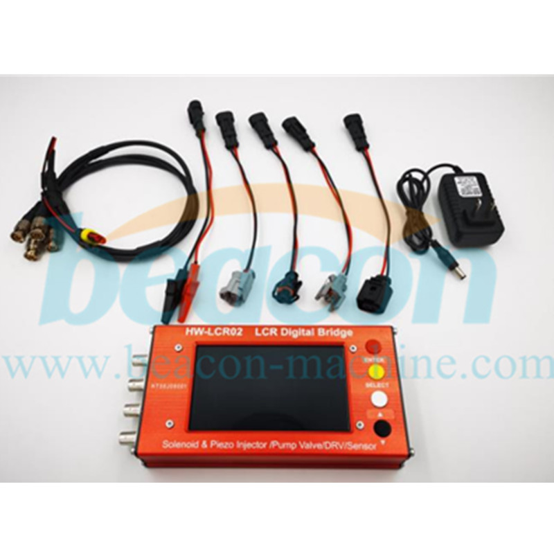 HW-LCR02 LCR digital bridge solenoid & pizeo injector tester