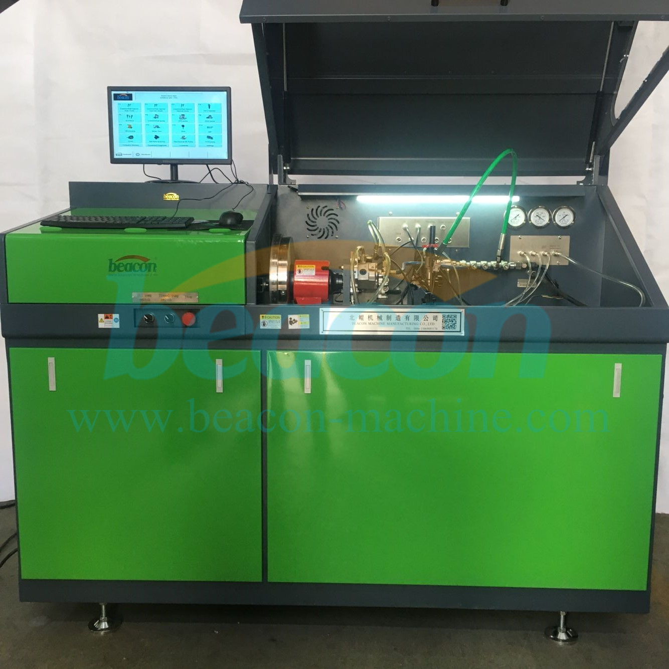 BC-CR708 EUI EUP HEUI common rail injector pump test bench
