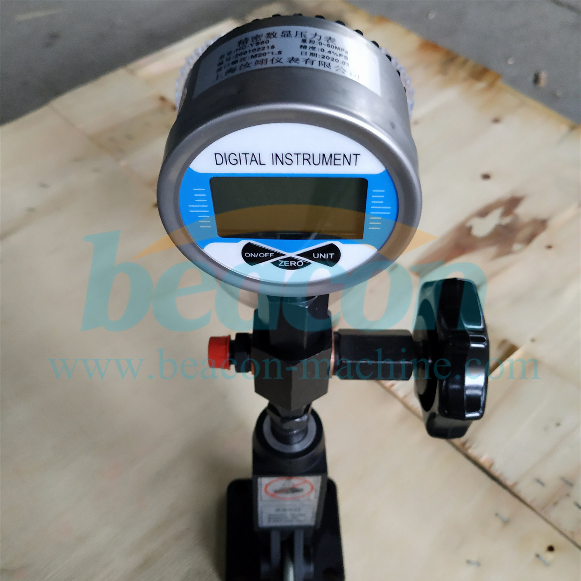 S60H diesel common rail injector nozzle tester with digital display