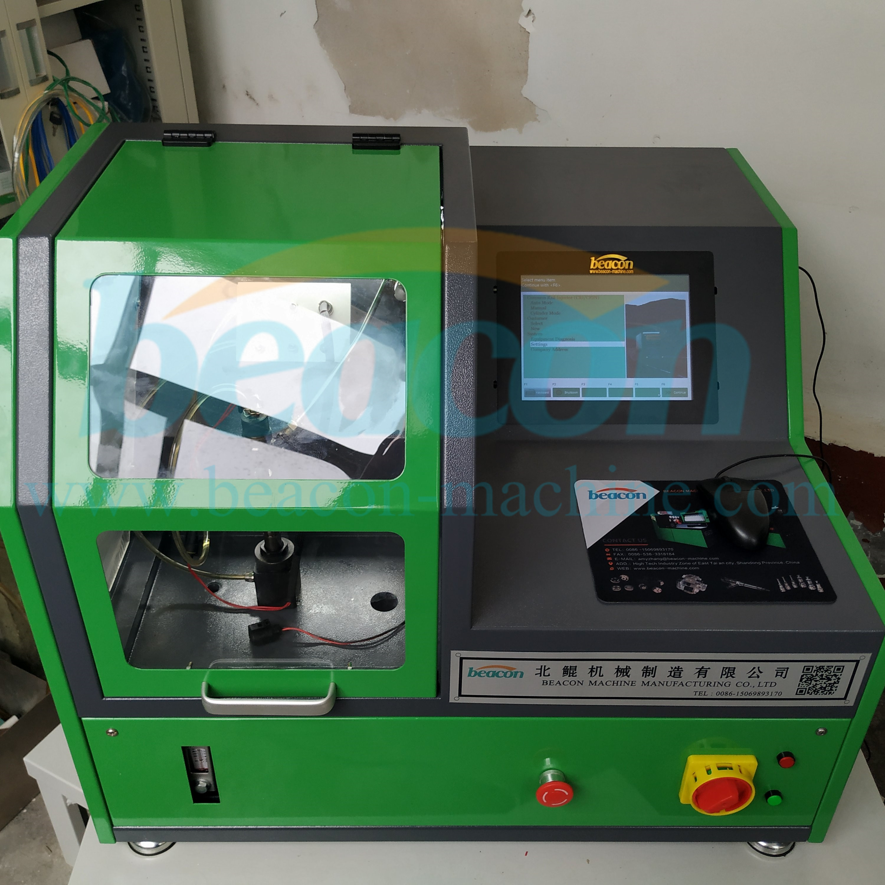 EPS208 auto electrical cri common rail diesel fuel injector test bench