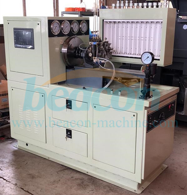 new version 12PSD Diesel fuel injection pump electric test bench JHDS-4 digital control
