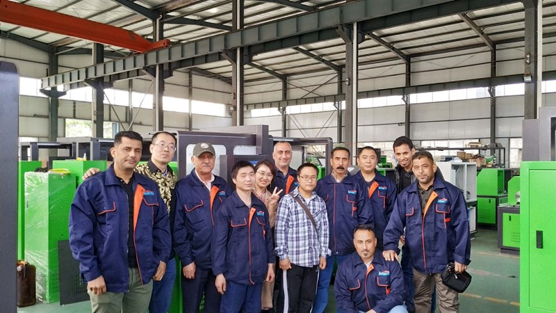 Product training for Iraqi customers