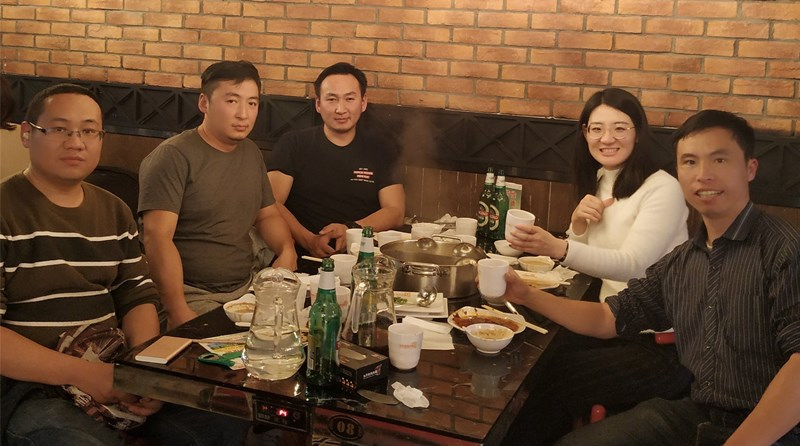 Customers from Mongolia